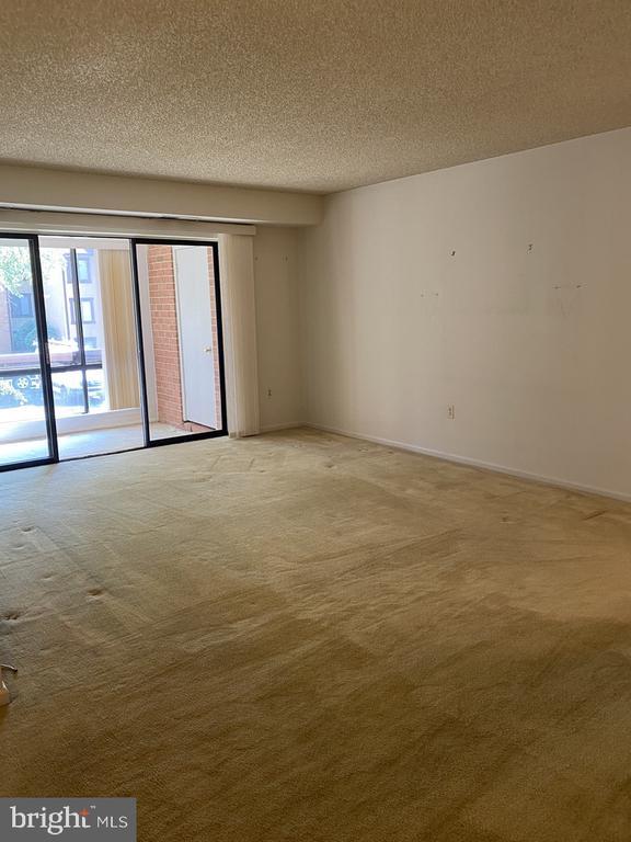 Living Room & Solarium - 10216 BUSHMAN DR #211, OAKTON