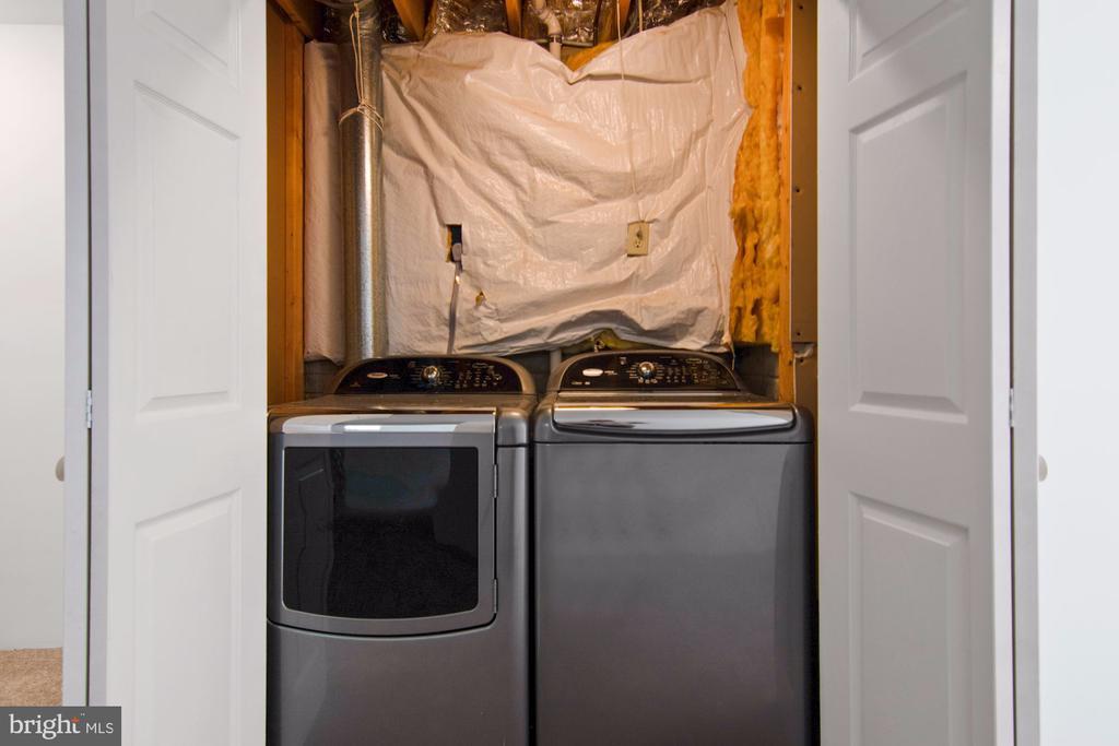Enclosed laundry - 205 SAIL CV, STAFFORD