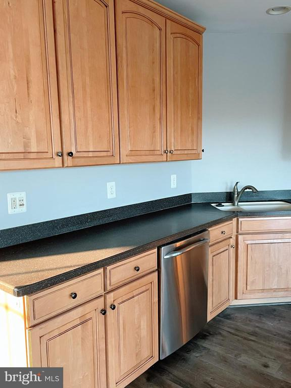 Kitchen counter space. - 43523 MAHALA ST, LEESBURG