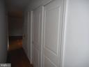 Double width coat closet - 121 SYLVAN LN, HARPERS FERRY