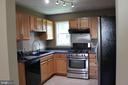 Kitchen with ss appliances - 107 PRICE DR, MANASSAS PARK