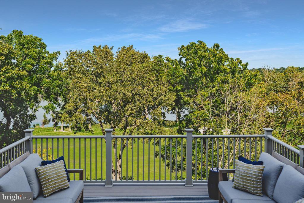 Incredible River and golf course views - 18362 FAIRWAY OAKS SQ, LEESBURG