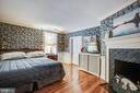 Bedrooms all feature fireplaces upstairs - 1501 CAROLINE ST, FREDERICKSBURG