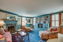 Bookshelves are built-in and add more charm - 1501 CAROLINE ST, FREDERICKSBURG