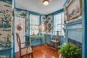 Chinese Music Room with charming fireplace - 1501 CAROLINE ST, FREDERICKSBURG