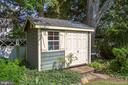 Storage shed for toys and tools - 1501 CAROLINE ST, FREDERICKSBURG