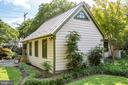 Formal landscaping surrounds all corners - 1501 CAROLINE ST, FREDERICKSBURG