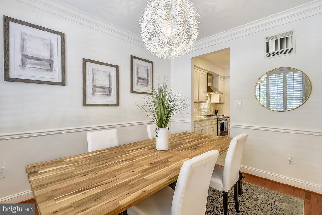 Dining room - 1326 N CLEVELAND ST, ARLINGTON