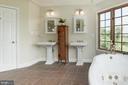 Dual Vanities in The Master Bathroom - 36906 N FORK RD, PURCELLVILLE