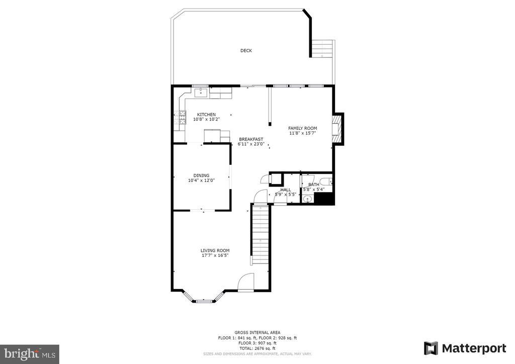 Main level - 10 CANDLERIDGE CT, STAFFORD
