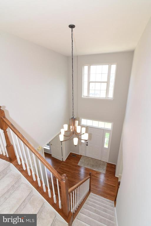 View from upper level landing - 43847 AMITY PL, ASHBURN