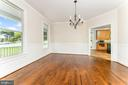 Formal dining room - 262 W NORTH AVE, WINCHESTER