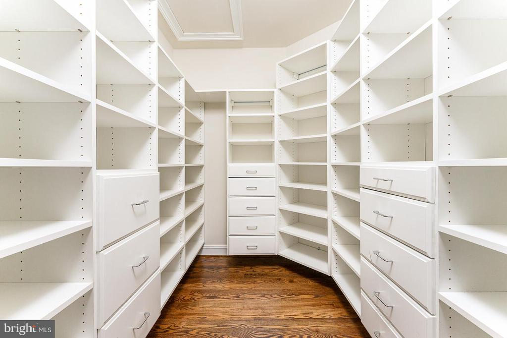 Closet system in master - 262 W NORTH AVE, WINCHESTER
