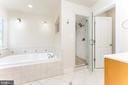 Master bathroom - 262 W NORTH AVE, WINCHESTER