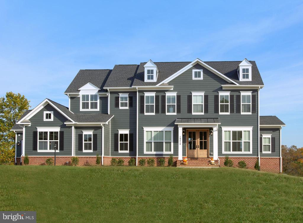 Optional elevation & features shown - PARTRIDGE CROSSING CT, PURCELLVILLE