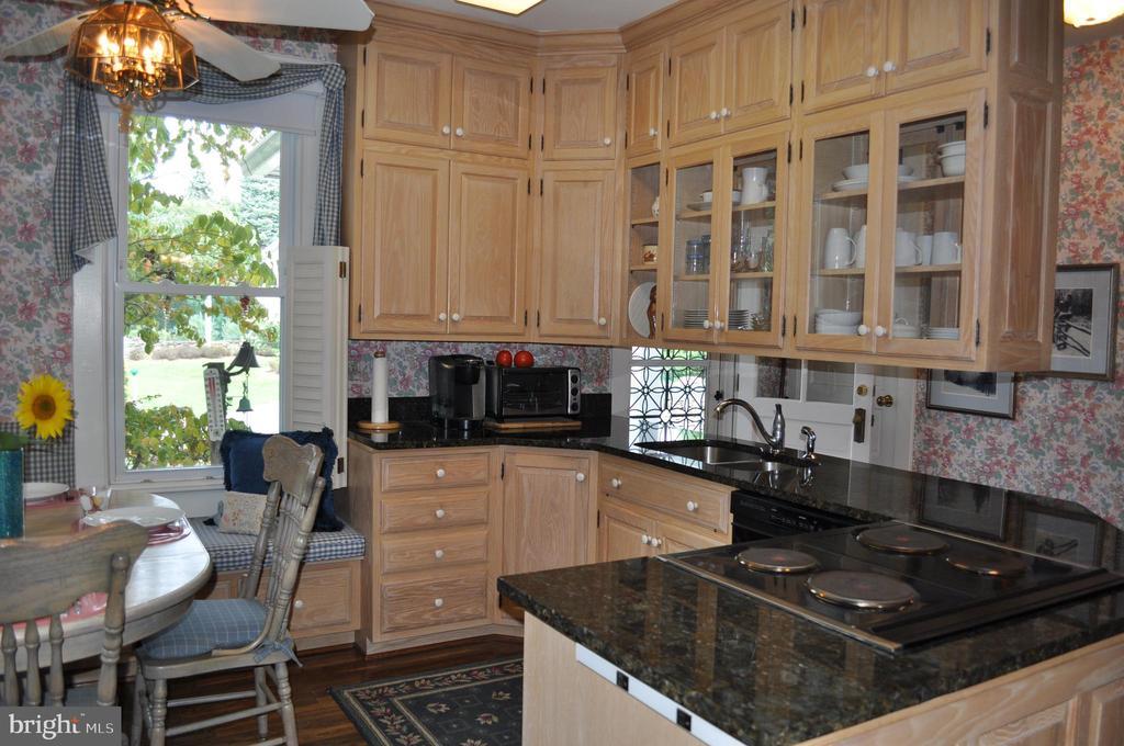 Granite counters, custom maple cabinets - 11690 FREDERICK RD, ELLICOTT CITY