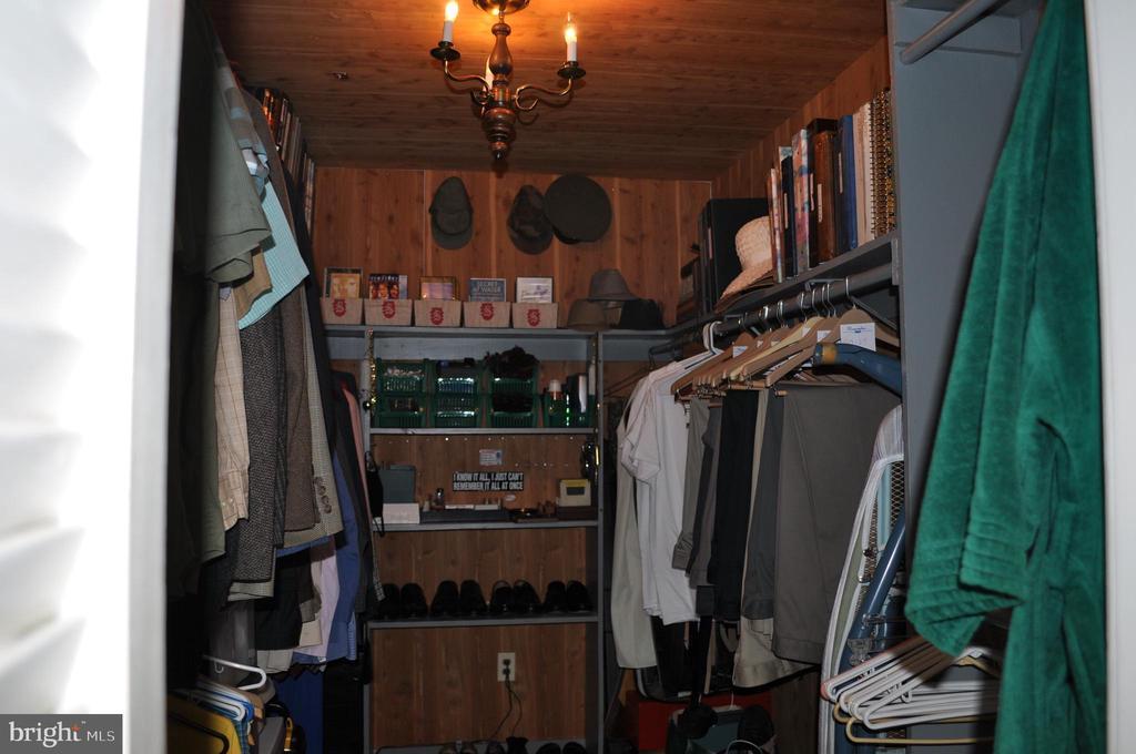 Walk-in primary closet (2 more in bedroom) - 11690 FREDERICK RD, ELLICOTT CITY