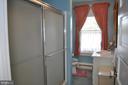 Full bath in hallway - 11690 FREDERICK RD, ELLICOTT CITY