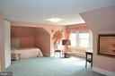 Fifth bedroom with front dormer - 11690 FREDERICK RD, ELLICOTT CITY