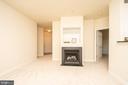 Living room - 42531 ROCKROSE SQUARE #102, ASHBURN