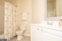 Hall bath - 42531 ROCKROSE SQUARE #102, ASHBURN