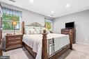 Lovely primary bedroom with newer carpet - 505 ASPEN DR, HERNDON