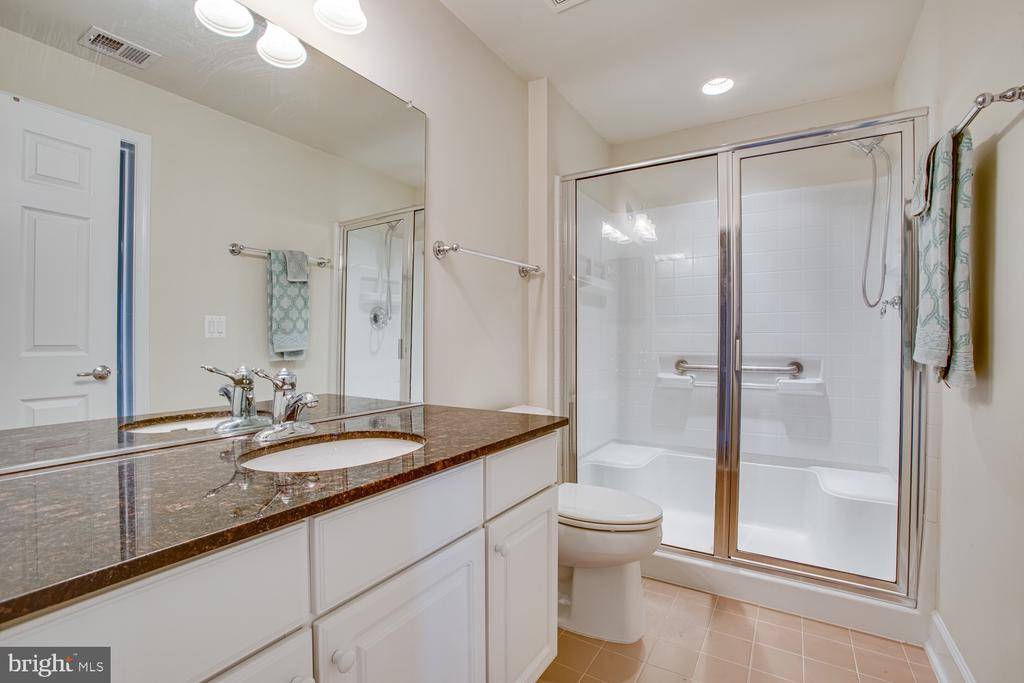 Basement full bathroom - 68 TABLE BLUFF DR, FREDERICKSBURG
