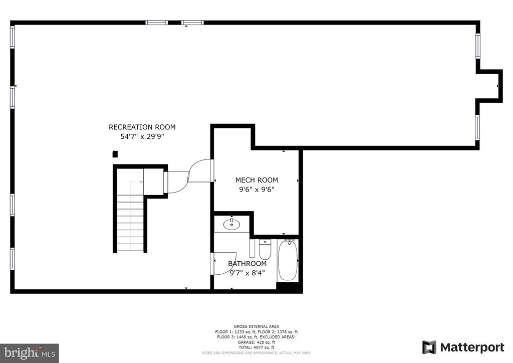 LL Floor plan - 43847 AMITY PL, ASHBURN