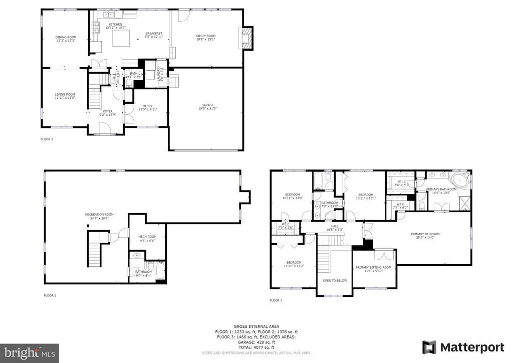 Full Home Floor plan - 43847 AMITY PL, ASHBURN