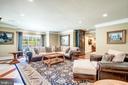 Lower Level Spacious Family Room - 40483 GRENATA PRESERVE PL, LEESBURG