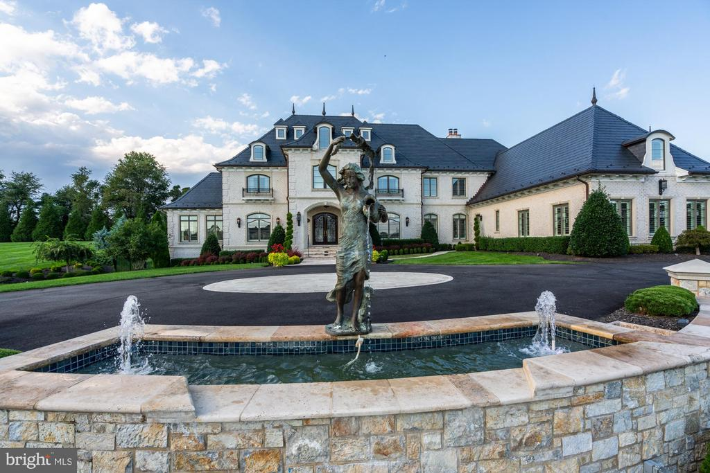 Spectacular Fountain Welcomes You on Arrival - 40483 GRENATA PRESERVE PL, LEESBURG
