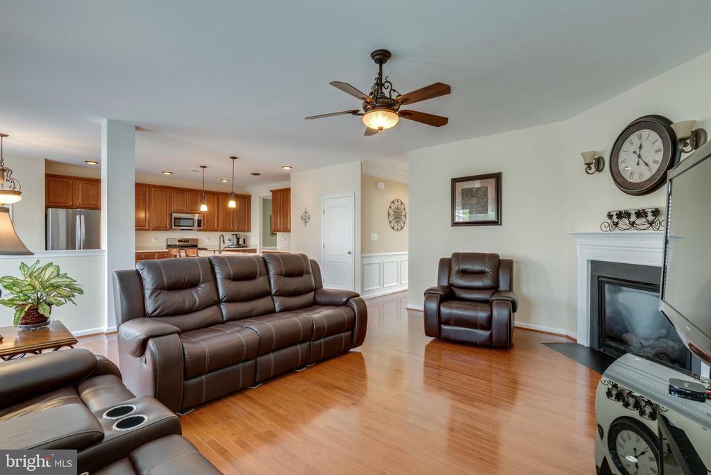 Family Room Adjacent To Kitchen Area - 42972 THORNBLADE CIR, BROADLANDS