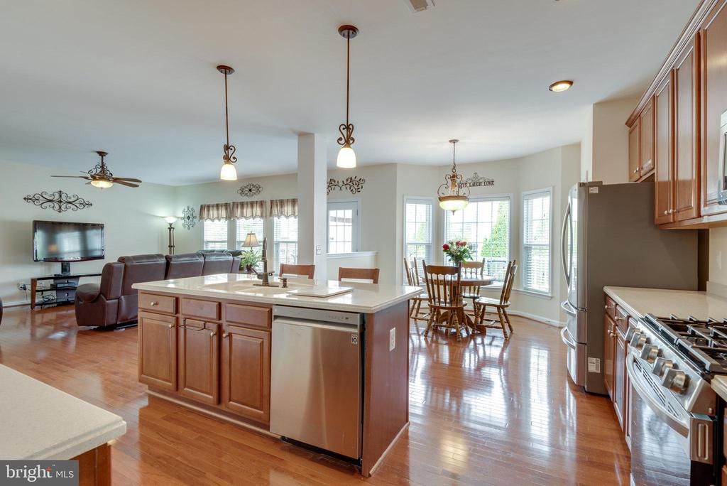 Great Kitchen and Family Room Space - 42972 THORNBLADE CIR, BROADLANDS