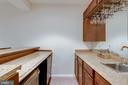 Lower Level Built-In Bar with Refrigerator - 42972 THORNBLADE CIR, BROADLANDS