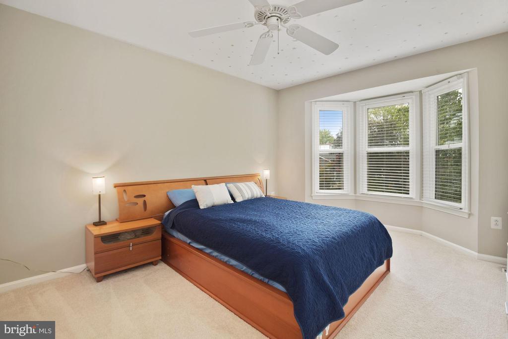 Primary Bedroom #2 - Big Windows Equal Great Sun! - 8423 HOLLIS LN, VIENNA
