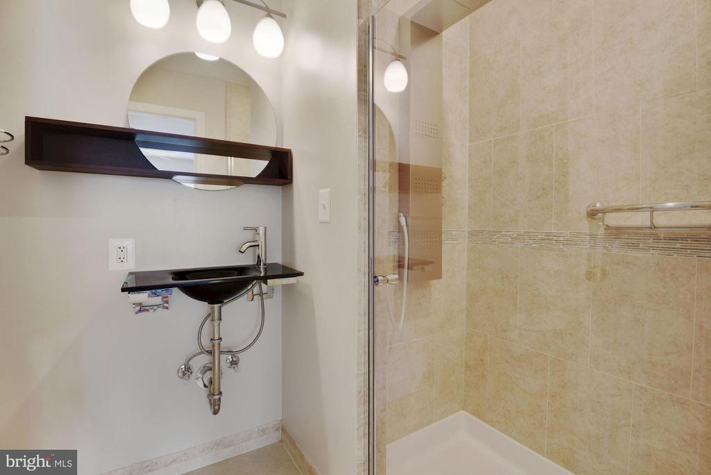 Primary Bathroom #2 - Renovated to the Nines! - 8423 HOLLIS LN, VIENNA