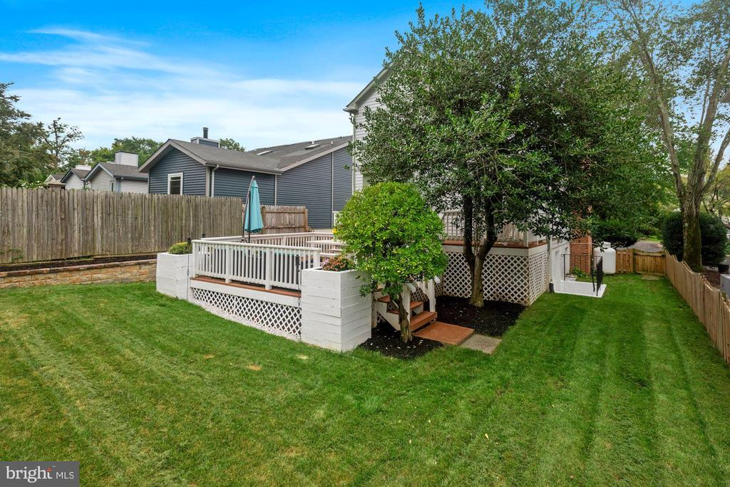 Fully Fenced-In FLAT Yard! Impeccably Maintained! - 8423 HOLLIS LN, VIENNA