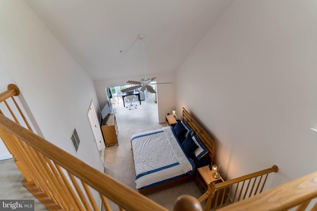 View from the Loft - 42885 GOLF VIEW DR, CHANTILLY