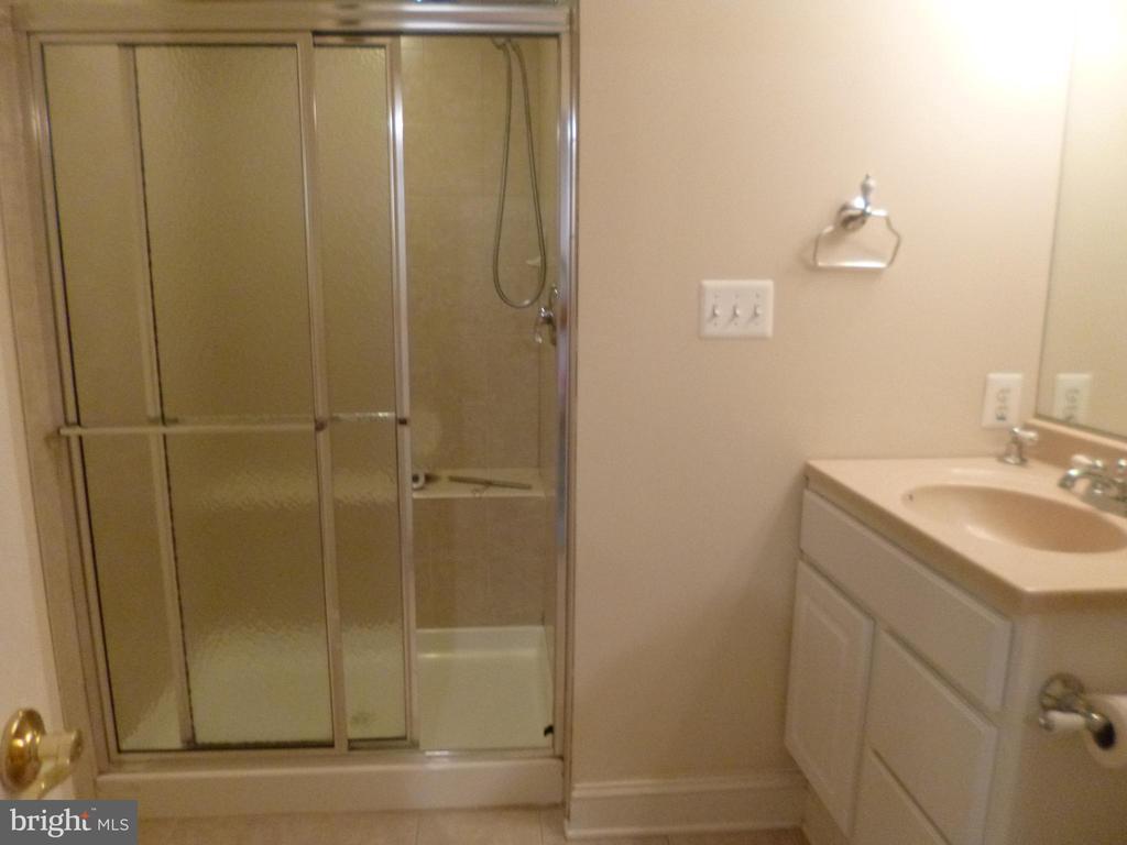 Full bath in basement - 4204 AVON DR, DUMFRIES