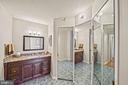 Primary bathroom - 1600 N OAK ST #525, ARLINGTON