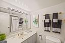 Second bathroom - 1600 N OAK ST #525, ARLINGTON