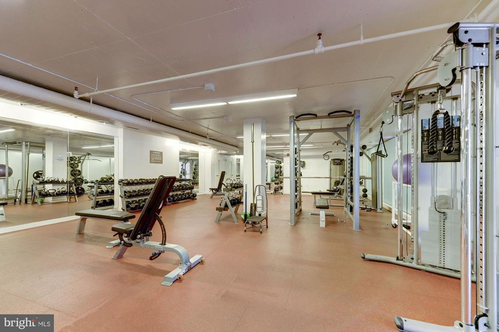 Large gym - 1600 N OAK ST #525, ARLINGTON