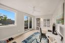 Bedroom #3 - Walkout to Rooftop - 1918 11TH ST NW #B, WASHINGTON