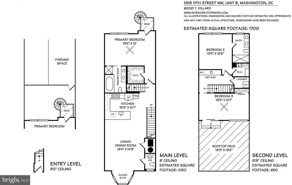 Floor Plan - 1918 11TH ST NW #B, WASHINGTON