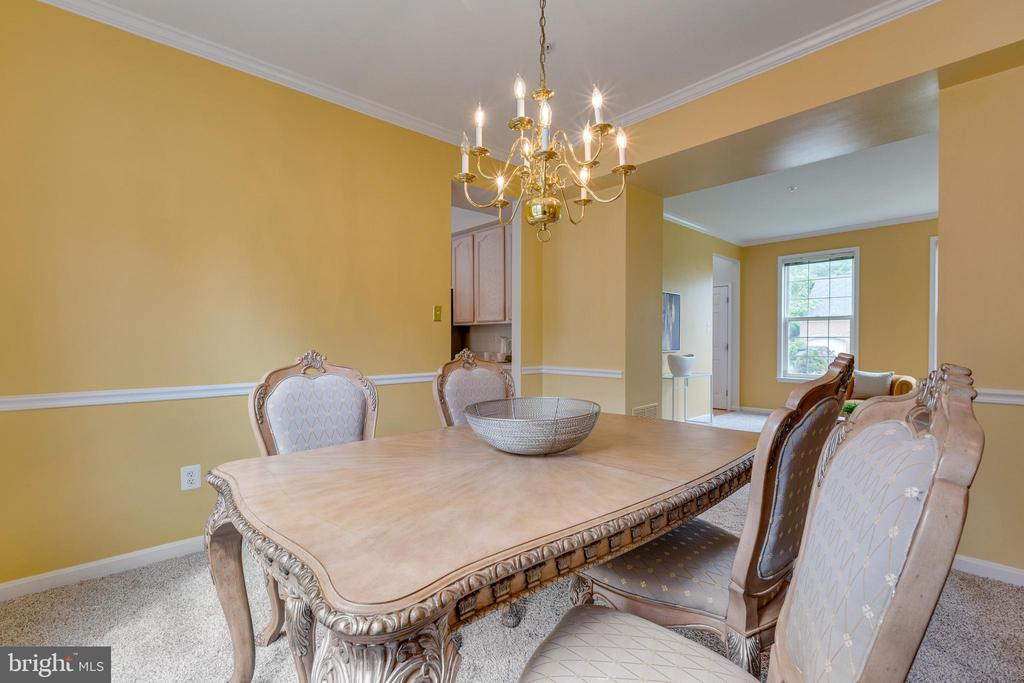 Spacious Dining Room Perfect for Hosting - 7617 STRATFIELD LN, LAUREL