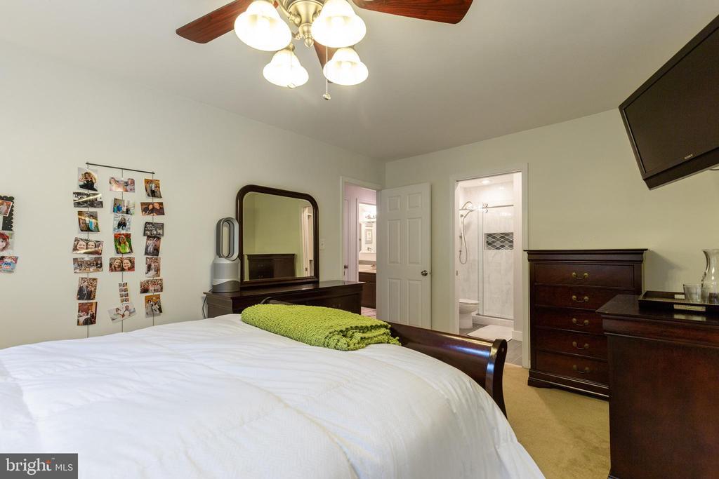 Large Primary Bedroom w/ bathroom suite - 7157 LAKE COVE DR, ALEXANDRIA