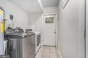 Laundry/Utility Room w/Door to Rear Brick Patio - 107 NINA CV, STAFFORD