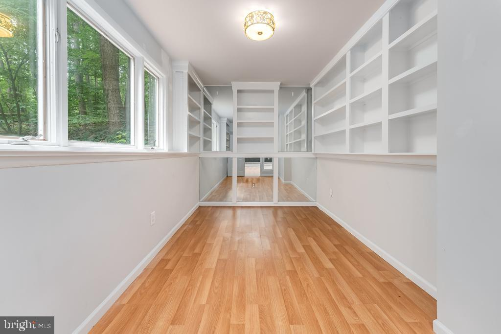 Main Level Office w/Built In Bookcases - 107 NINA CV, STAFFORD