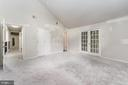 Vaulted Ceiling & WalkIn Closet in Primary Bedroom - 107 NINA CV, STAFFORD
