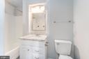 UPDATED Upper Level Full Bath w/Tub/Shower - 107 NINA CV, STAFFORD